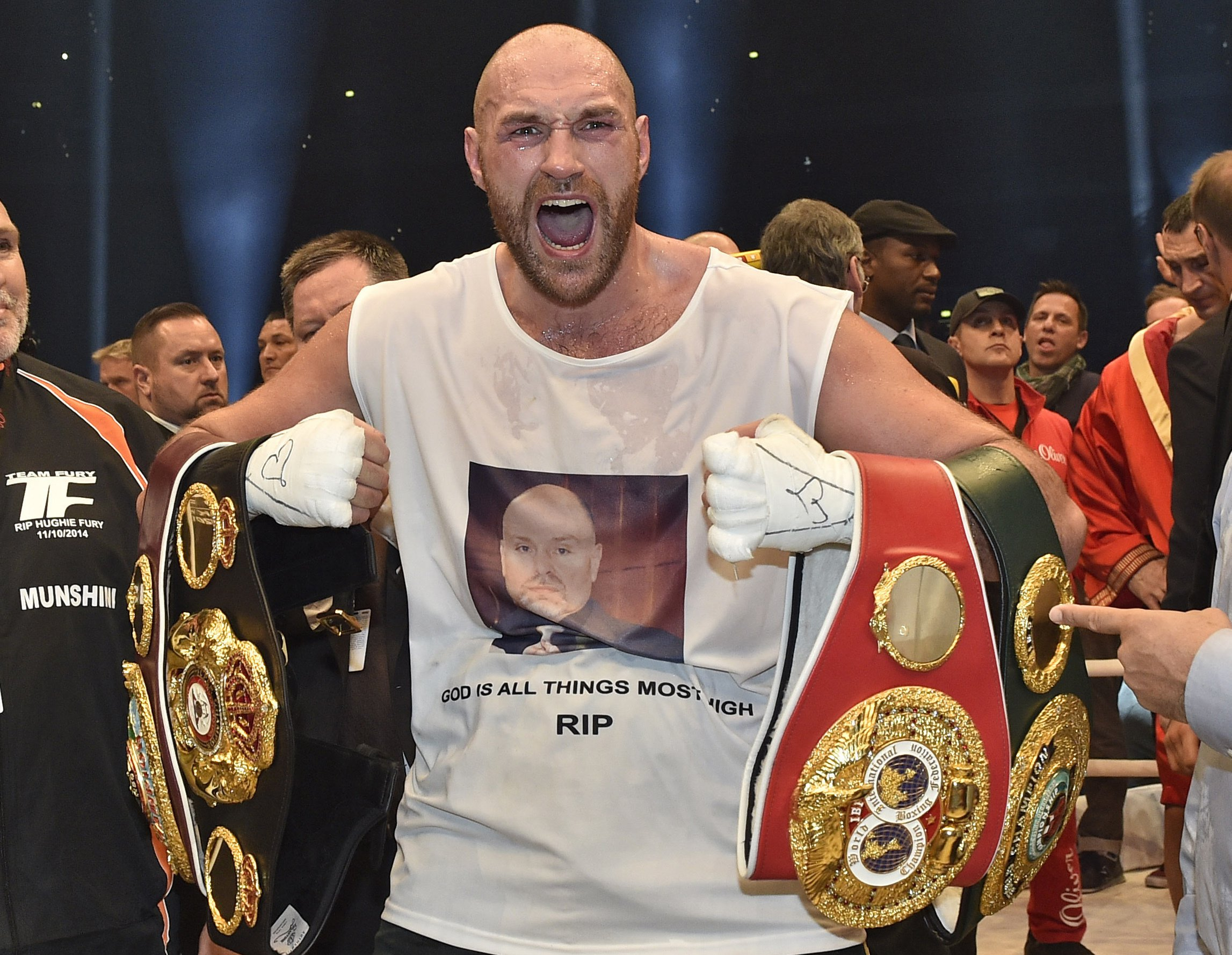 Tyson Fury compares himself to Usain Bolt and Ferrari: 'Am I really that fast!'