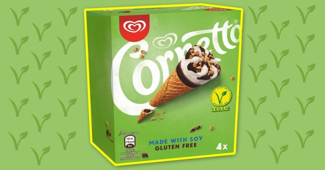 Walls Cornetto vegan cones