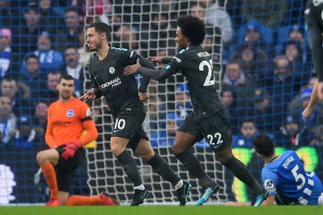 Chelsea news: Eden Hazard scores 100th career league goal vs