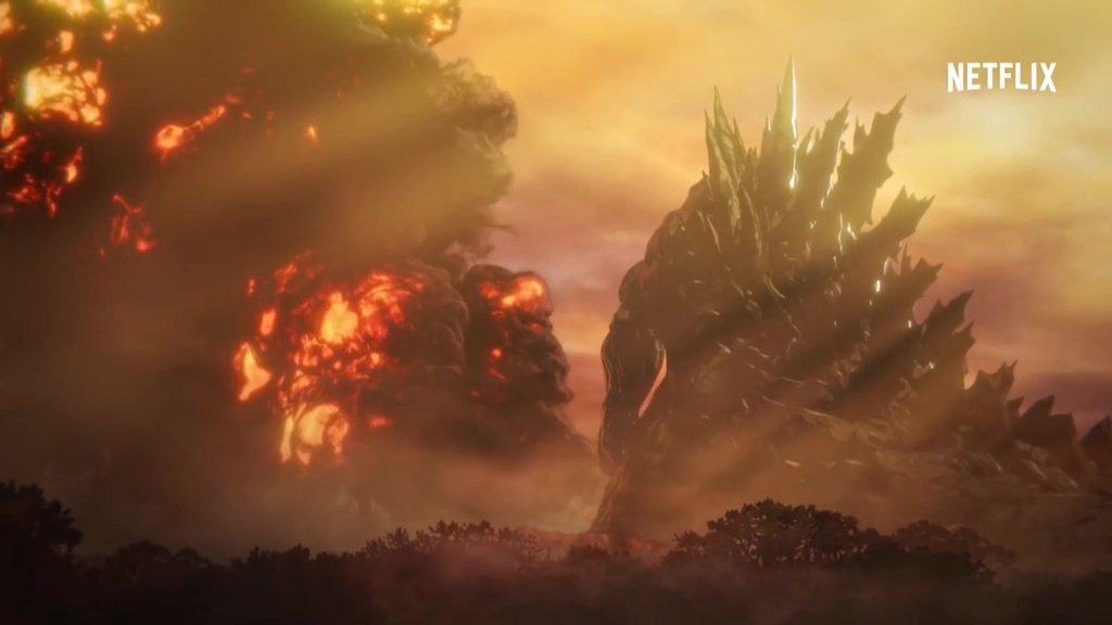 Godzilla return to his destructive roots in Netflix's futuristic anime reboot Godzilla: Monster Planet