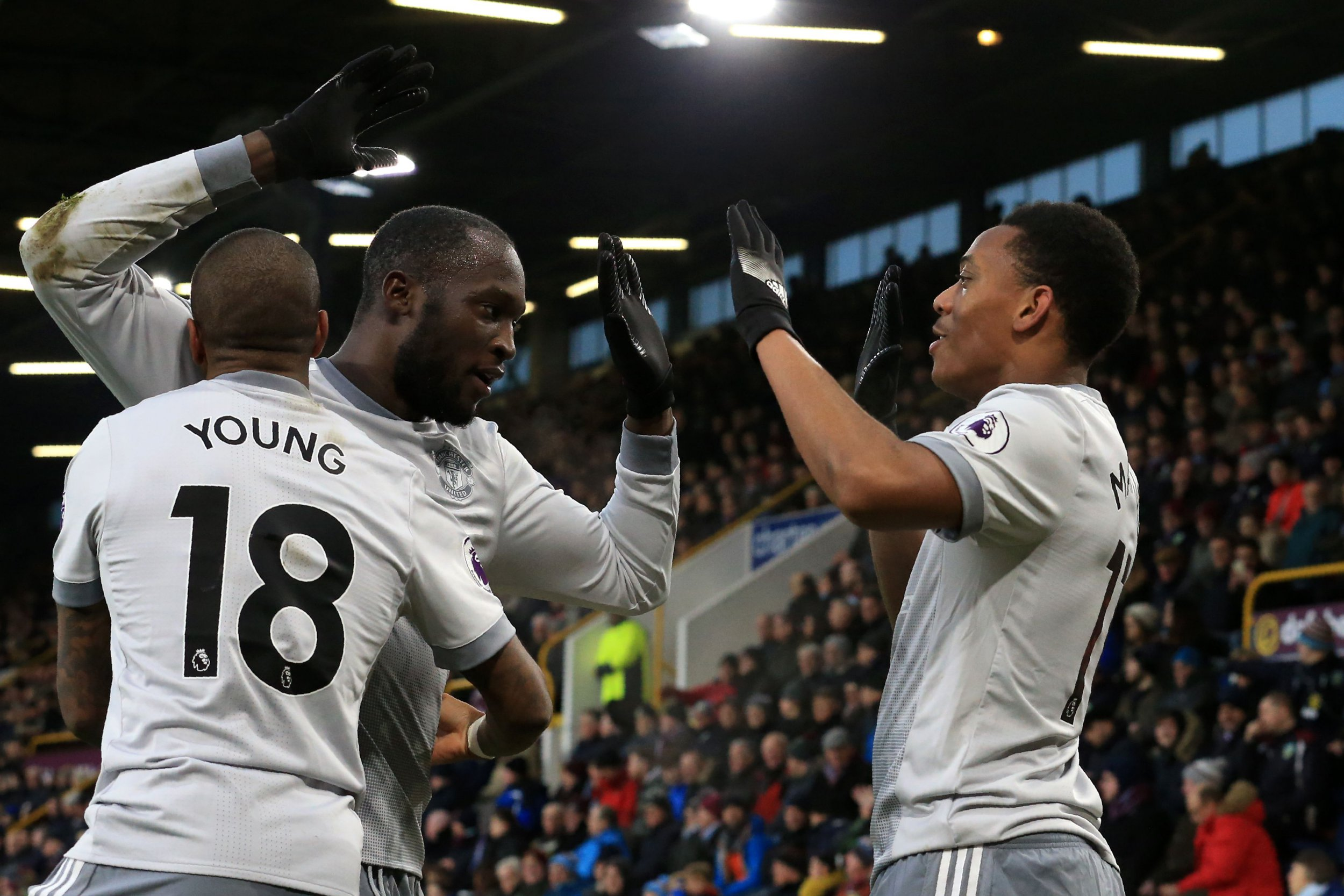 Jose Mourinho praises Romelu Lukaku and Anthony Martial link-up play in Manchester United win