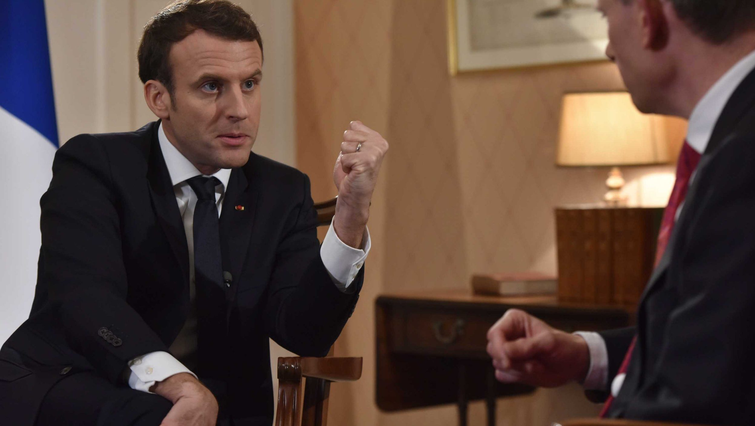 France would 'probably' have voted to leave the EU says Emmanuel Macron