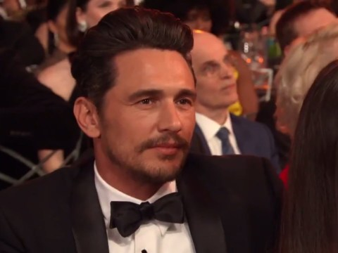 James Franco attends SAG awards 2018 after sexual harassment allegations
