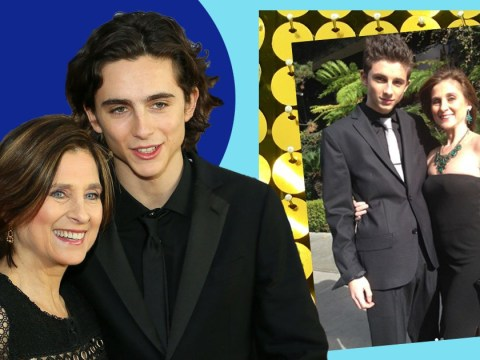 Timothée Chalamet takes his mum to SAG Awards five years after first ceremony