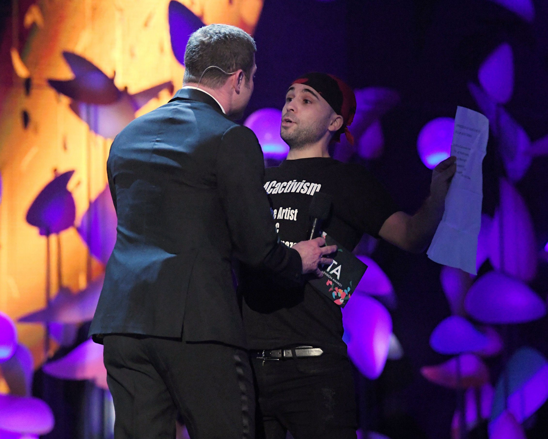 NTAs stage invader's identity revealed as 'intellectual rebel' who crashed The Voice final