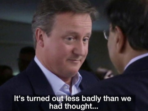 David Cameron overheard saying Brexit was a 'mistake, not a disaster'