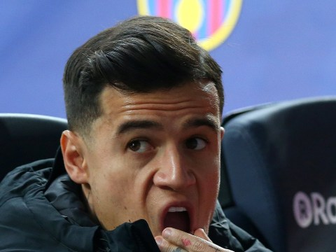 Phil Thompson tells Philippe Coutinho what to do if he gets a Champions League winners' medal