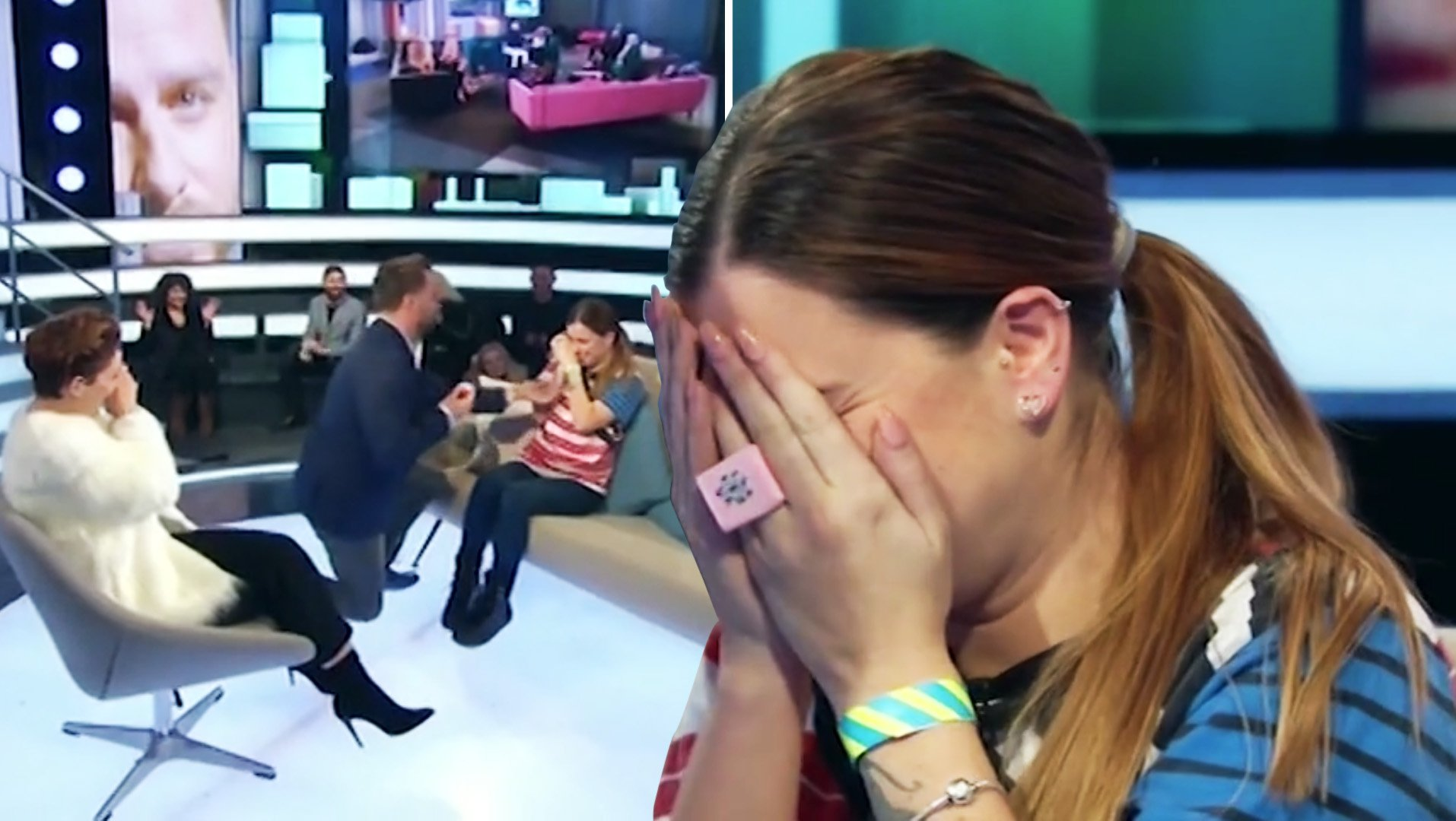 Dapper Laughs proposes to girlfriend live on CBB eviction
