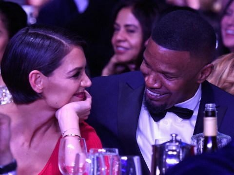 Katie Holmes denies Jamie Foxx split as she addresses relationship for first time