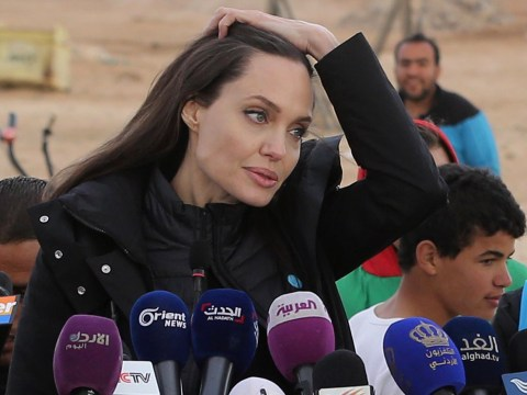 Angelina Jolie tells of heartbreak while meeting Syrian refugees