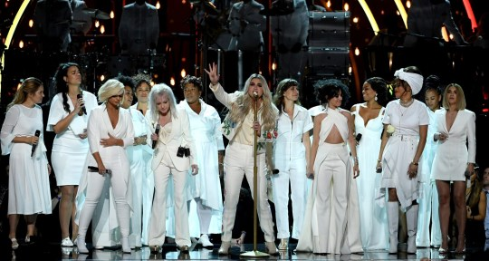 Kesha Grammys performance