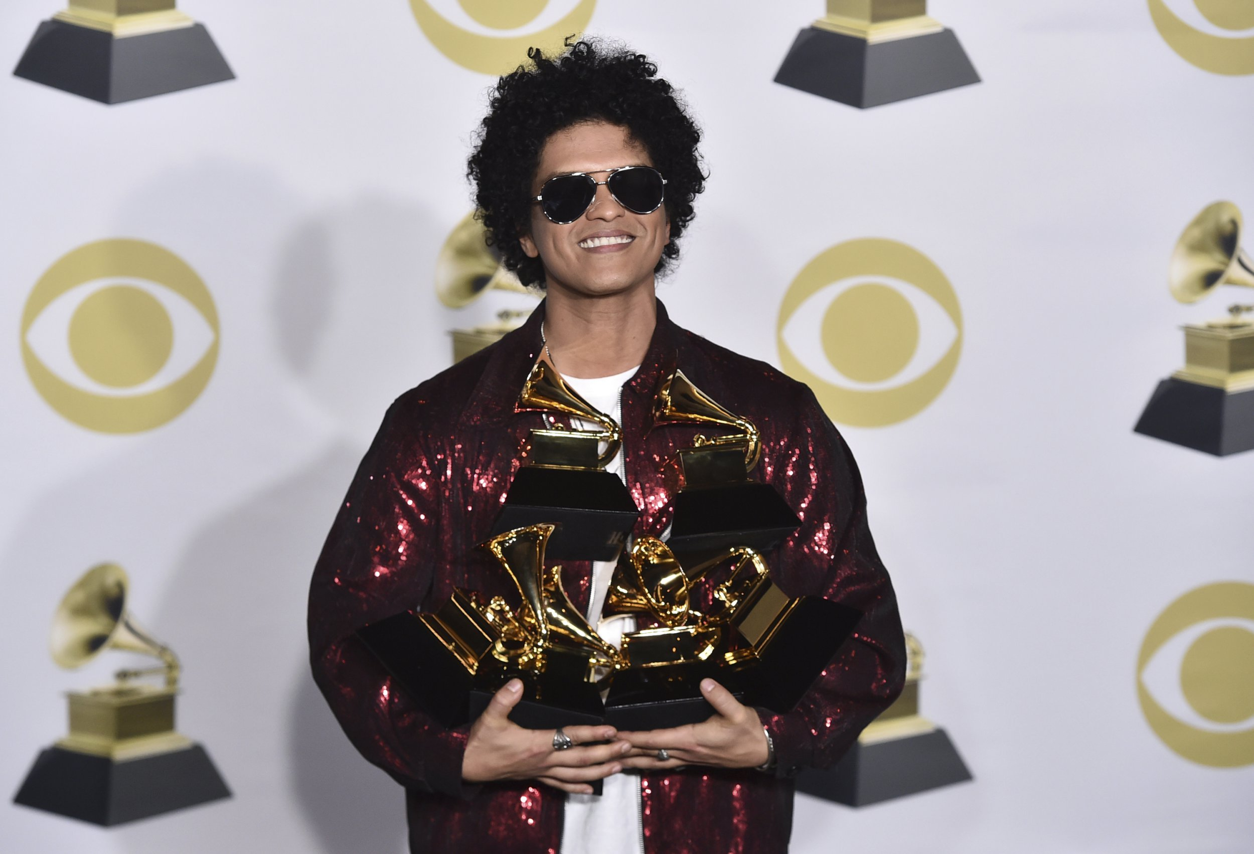 Grammy winners list 2018 – Bruno Mars, Kendrick Lamar and Ed Sheeran all feature