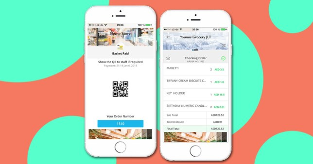 self scanning shopping app