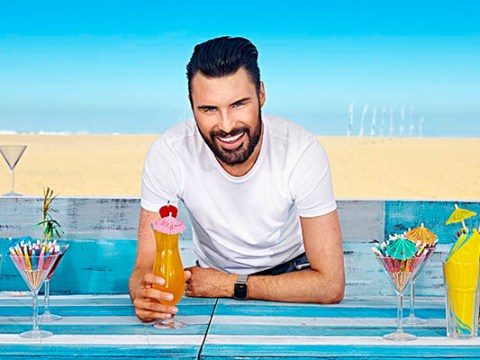 Rylan Clark admits his new show The Wave is 'dangerous but fun' as contestants brave 50 feet swells