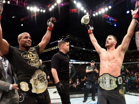 UFC announce champion vs champion super-fight between Stipe Miocic and Daniel Cormier