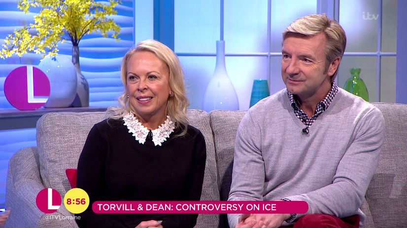 Dancing On Ice: Torvill and Dean defend decision to send home Stephanie Waring over Lemar