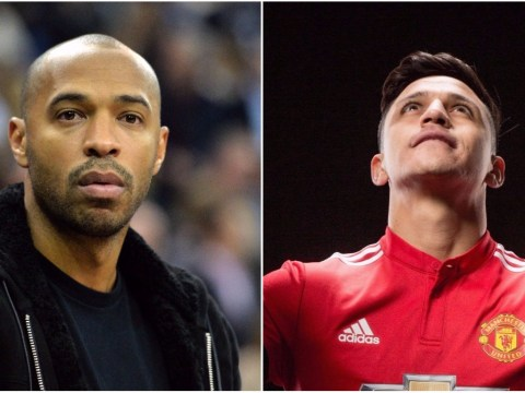 Alexis Sanchez accused of throwing Arsenal legend Thierry Henry 'under the bus' after joining Manchester United