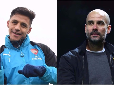 Pep Guardiola congratulates Alexis Sanchez on imminent Manchester United transfer