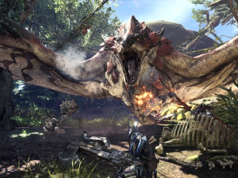 Monster Hunter World: How many monsters and weapon types are there?