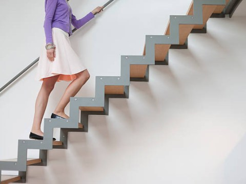 Why climbing stairs is always a killer, no matter how fit you are