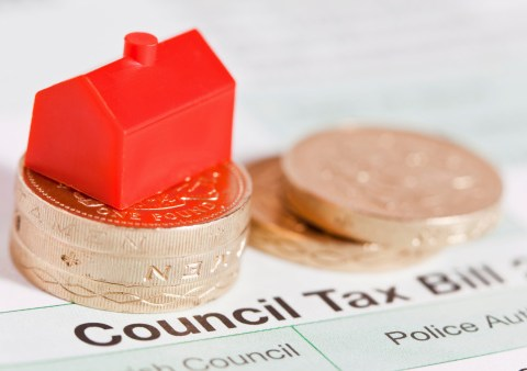 Which months do you not pay council tax?