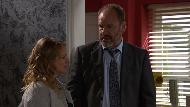 Jimmy and Nicola struggle in Emmerdale