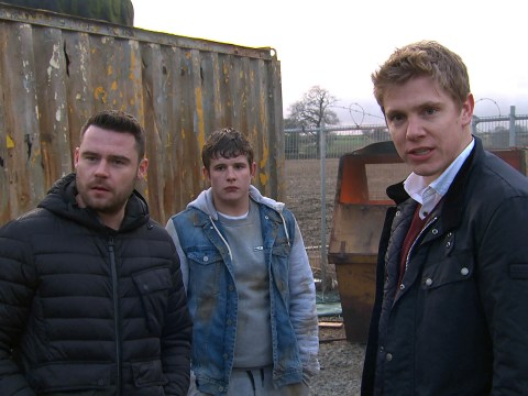 Emmerdale spoilers: New pictures confirm Robert Sugden and Aaron Dingle are back together