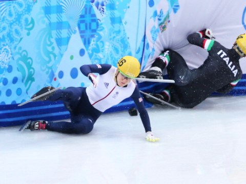 Elise Christie targeting gold for Team GB at the Winter Olympics after Sochi heartbreak