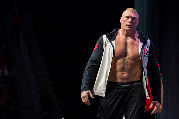 Brock Lesnar can still compete in UFC despite new  WWE contract