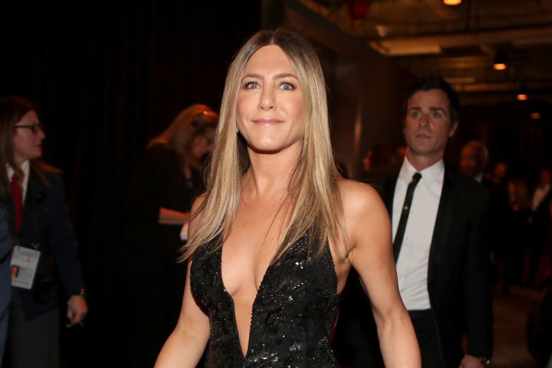 Jennifer Aniston 'doing OK' after break-up from Justin Theroux