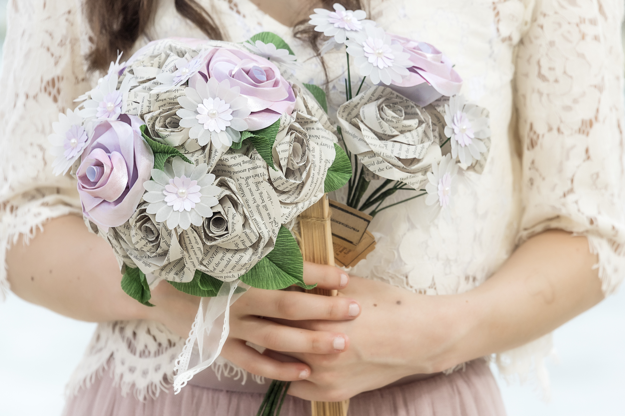 12 alternative bridal bouquets if you don't want fresh flowers