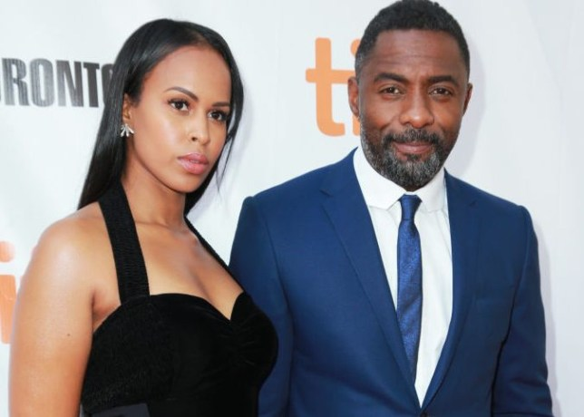 Idris Elba and girlfriend Sabrina