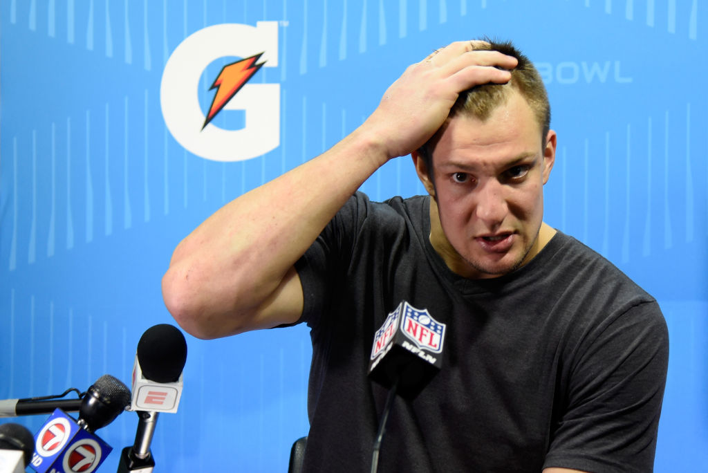 Rob Gronkowski hints at retirement after Super Bowl LII defeat