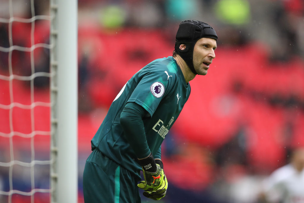 Petr Cech finds Arsene Wenger's plan to use David Ospina in the League Cup final hard
