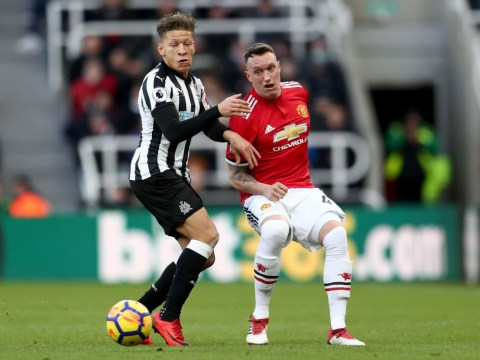 Phil Jones says Manchester United dressing room 'devastated' after Newcastle loss