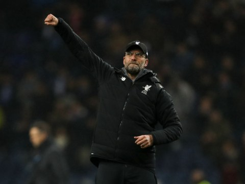 Jurgen Klopp's reaction to Liverpool's fifth goal sums up their emphatic performance