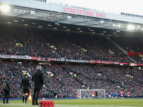 Manchester United could be left 'homeless' if they opt to expand Old Trafford to 90,000 seats