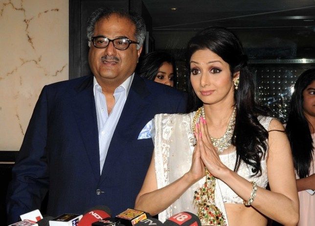 Who is Boney Kapoor, husband of dead Bollywood superstar Sridevi?