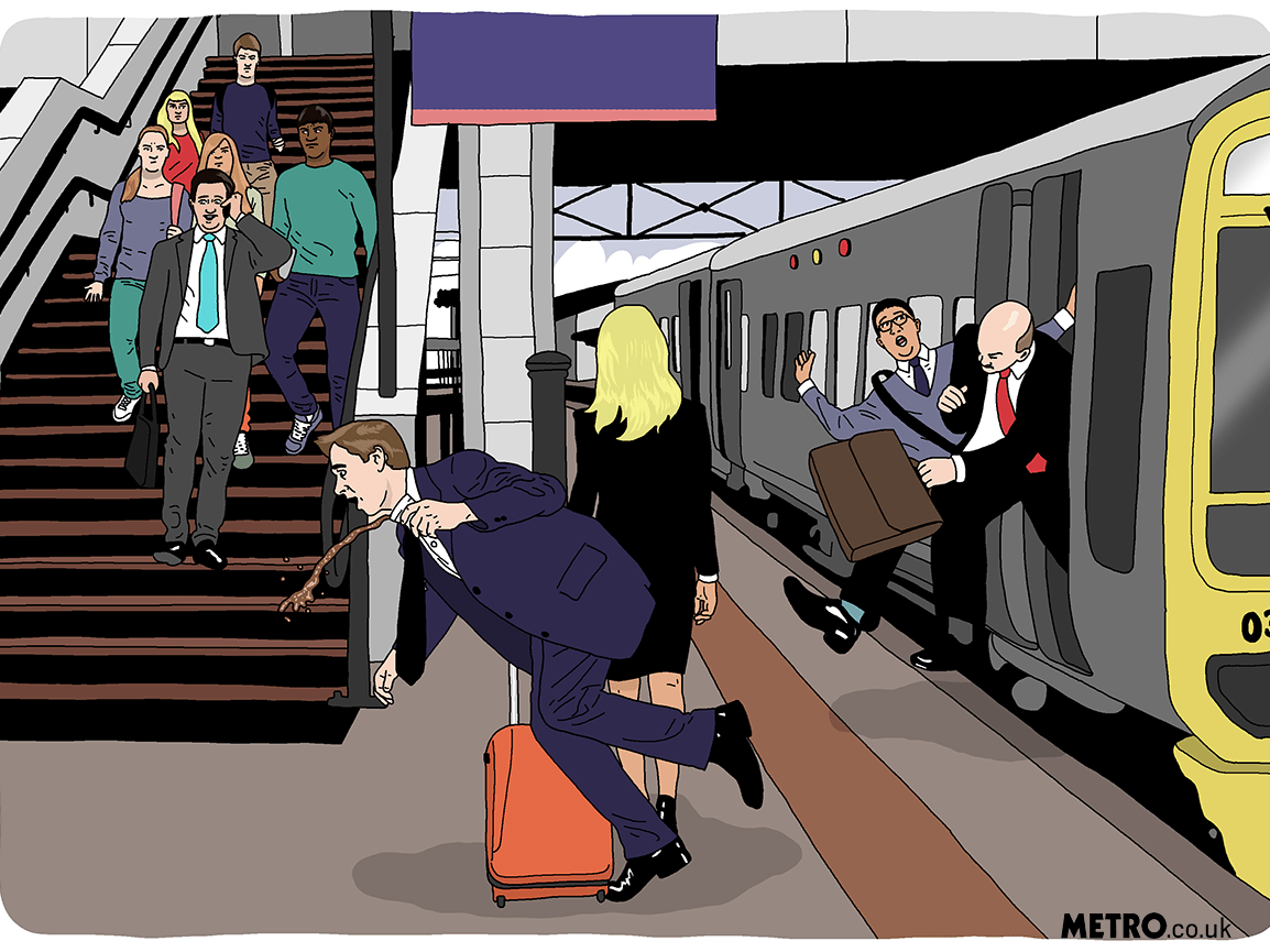 10 commuters who'll drive you into a needless and petty internal rage