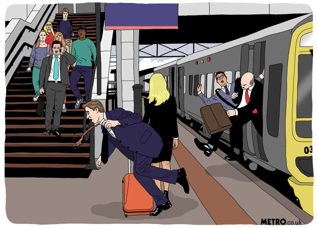 angry commuters