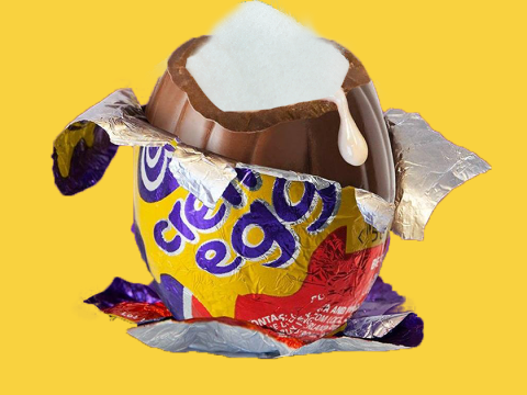 Cadbury expert explains the correct way to eat a Creme Egg