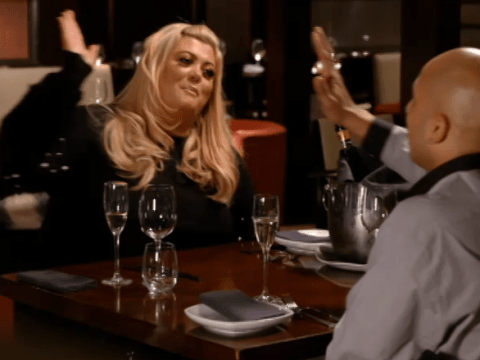 Gemma Collins says she 'only goes out with gangsters and bad boys' on Celebs Go Dating