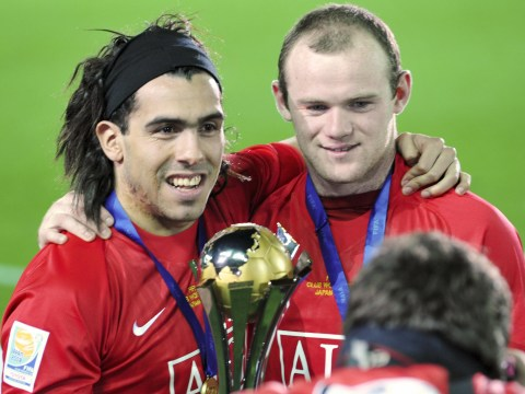 Wayne Rooney names Carlos Tevez as his preferred attacking partner at Manchester United