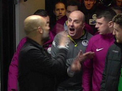 Pep Guardiola gives his side of tunnel bust-up after Manchester City's FA Cup exit to Wigan