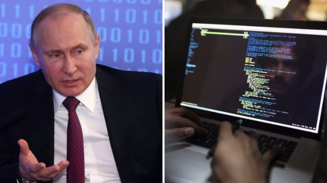 Britain blames Russia for cyber attack that spread across Europe