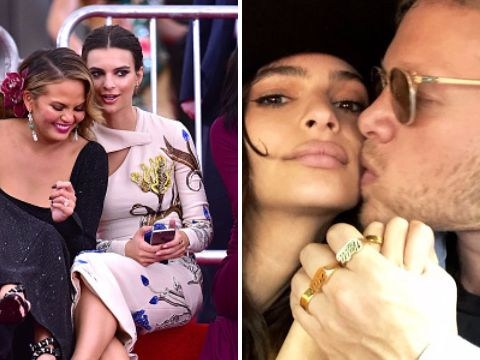 Chrissy Teigen is 'oddly mad' she wasn't invited to Emily Ratajkowski's wedding