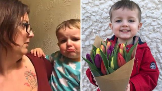 Aldi-loving toddler left in tears when his mum tells him it's closed