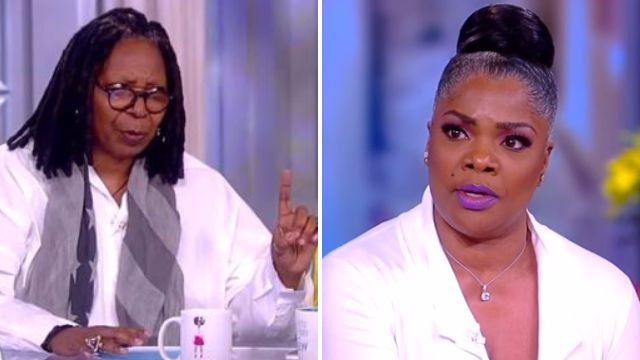 Whoopi Goldberg offers to 'school' Mo'Nique as the pair clash over Netflix boycott on The View