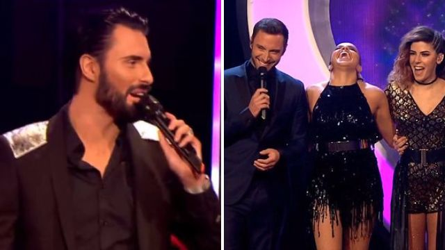 People were loving Rylan Clark 'flirting' with Mans Zelmerlow on Eurovision: You Decide