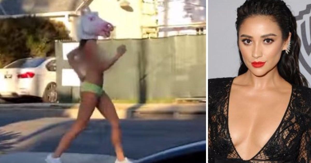 Salvation on Epiphany: Naked jogger filmed streaking in